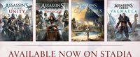 Google Stadia Leaks Two Assassin's...