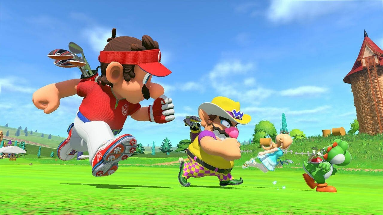 Japanese Charts: Mario Golf: Super Rush Stays Top For A Second Week As Switch Dominates