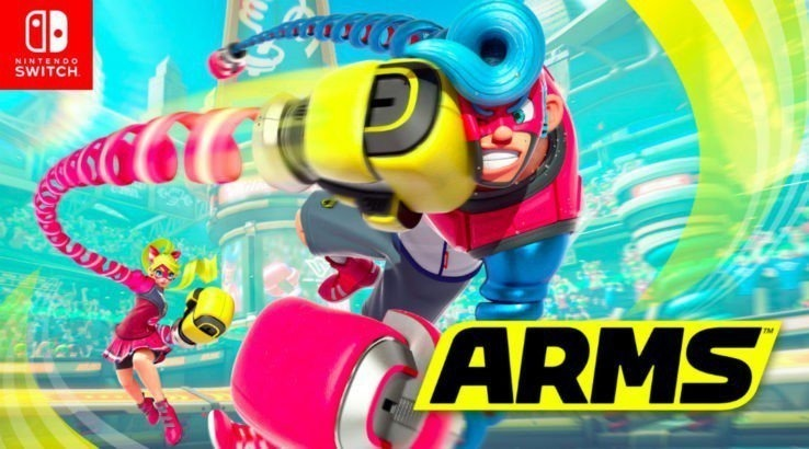 ARMS Barely Takes Up Any Space On The Switch