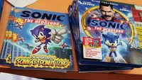 Sonic the Hedgehog movie Bluray...