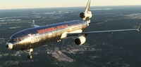 Microsoft Flight Simulator MD11...