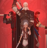 The Witcher 'Wolf Pack' Art Captures...