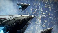 star citizen: New Star Citizen Video Shows Banu Defender, Particles, and Sound Recording