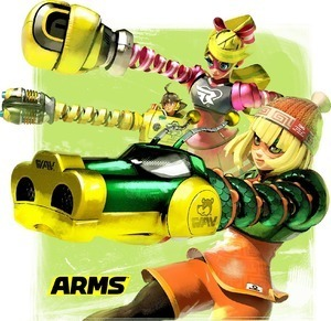 ARMS screenshots from Japanese Twitter