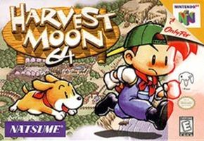 Harvest Moon 64 game