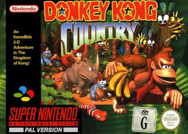 Donkey Kong Country game