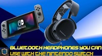 Nintendo Switch: Bluetooth Headset You Can Use With The Nintendo Switch | Steelseries Arctis 3 Bluetooth Headphones