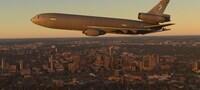 Microsoft Flight Simulator KC10...