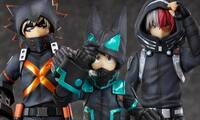My Hero Academia World Heroes' Mission Deku, Bakugou, and Todoroki Figures Available for Pre-Order