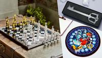 Kingdom Hearts chess board mouse...