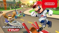 Baseball Mario up to bat in Mario...