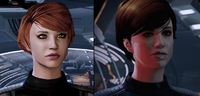 Comparison on Mass Effect Legendary...