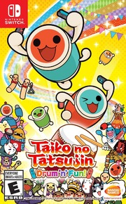 Taiko no Tatsujin: Drum 'n' Fun: Taiko no Tatsujin: Drum 'n' Fun! and Drum Session! Now Available in North America and Europe