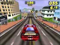 San Francisco Rush: San Francisco Rush [N64] Gameplay