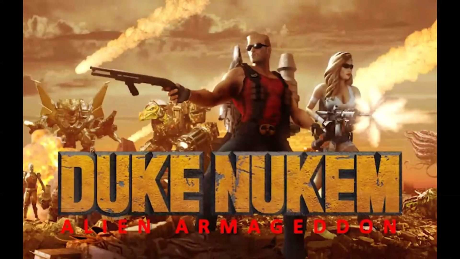 Duke Nukem 3D Alien Armageddon V40 is now available
