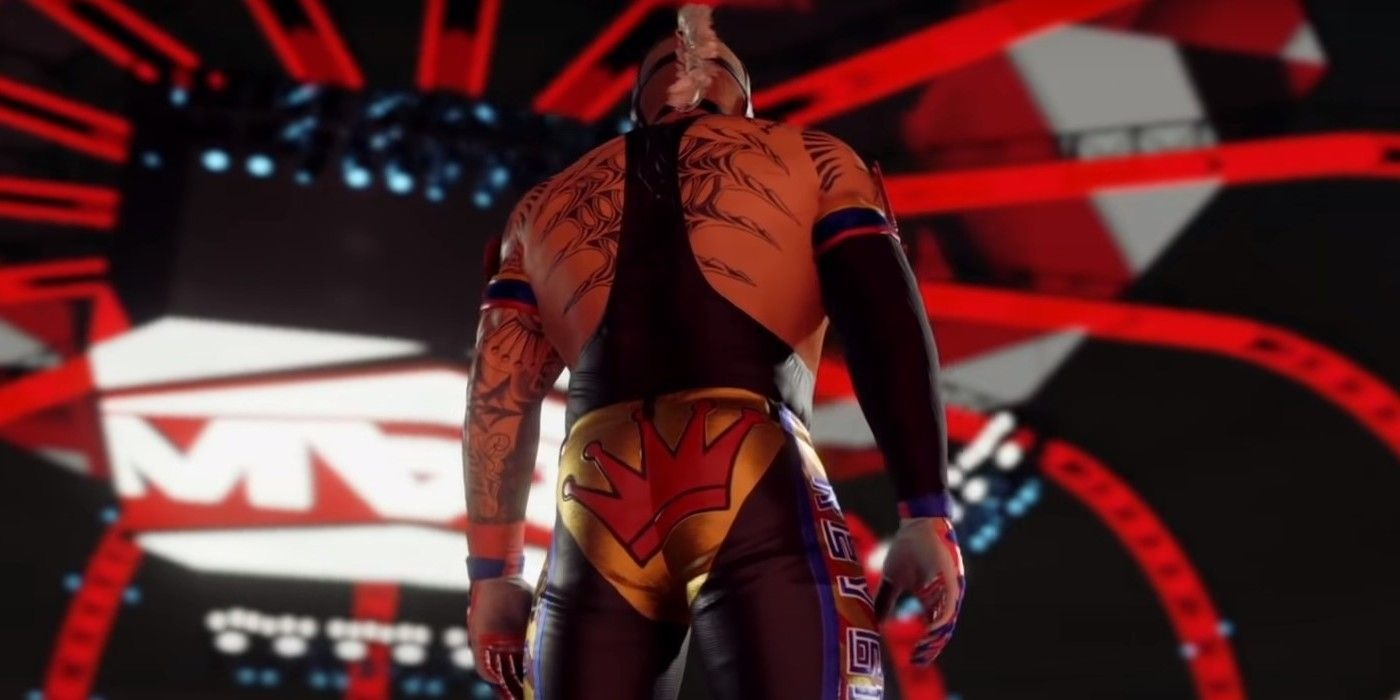 Even WWE 2K22 is Taking Shots at WWE 2K