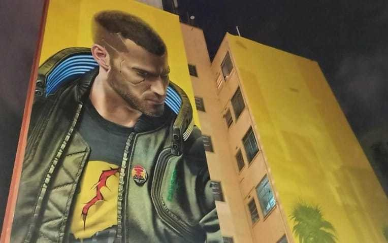 Brazilian Company Fined for Cyberpunk 2077 Mural in Sao Paulo
