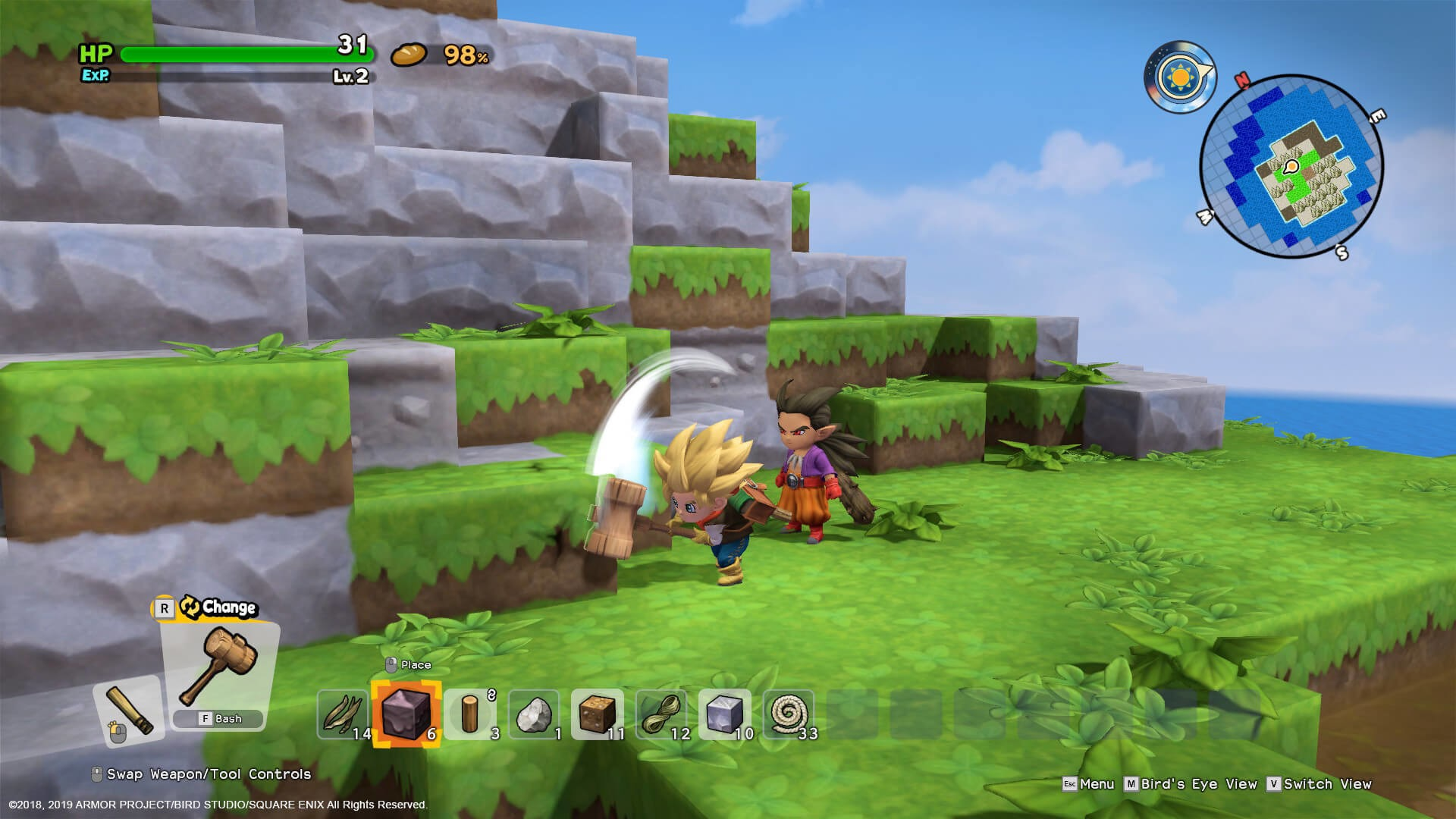 DRAGON QUEST BUILDERS 2 is coming to the PC on December 10th