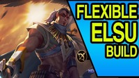 Arena Of Valor: TRIBAL GUARDIAN ELSU SKIN | Arena Of Valor FLEXIBLE ELSU BUILD | AOV Mobile
