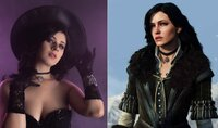 The Witcher Cosplay Gives Yennefer...