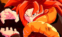 Gogeta SS4 brings his mighty powers...