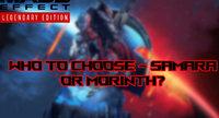 Mass Effect Legendary Edition Choose...
