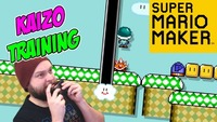 super mario maker: Super Mario Maker - Let's Do Some Super Mario World Kaizo Training! [Stream Highlights]