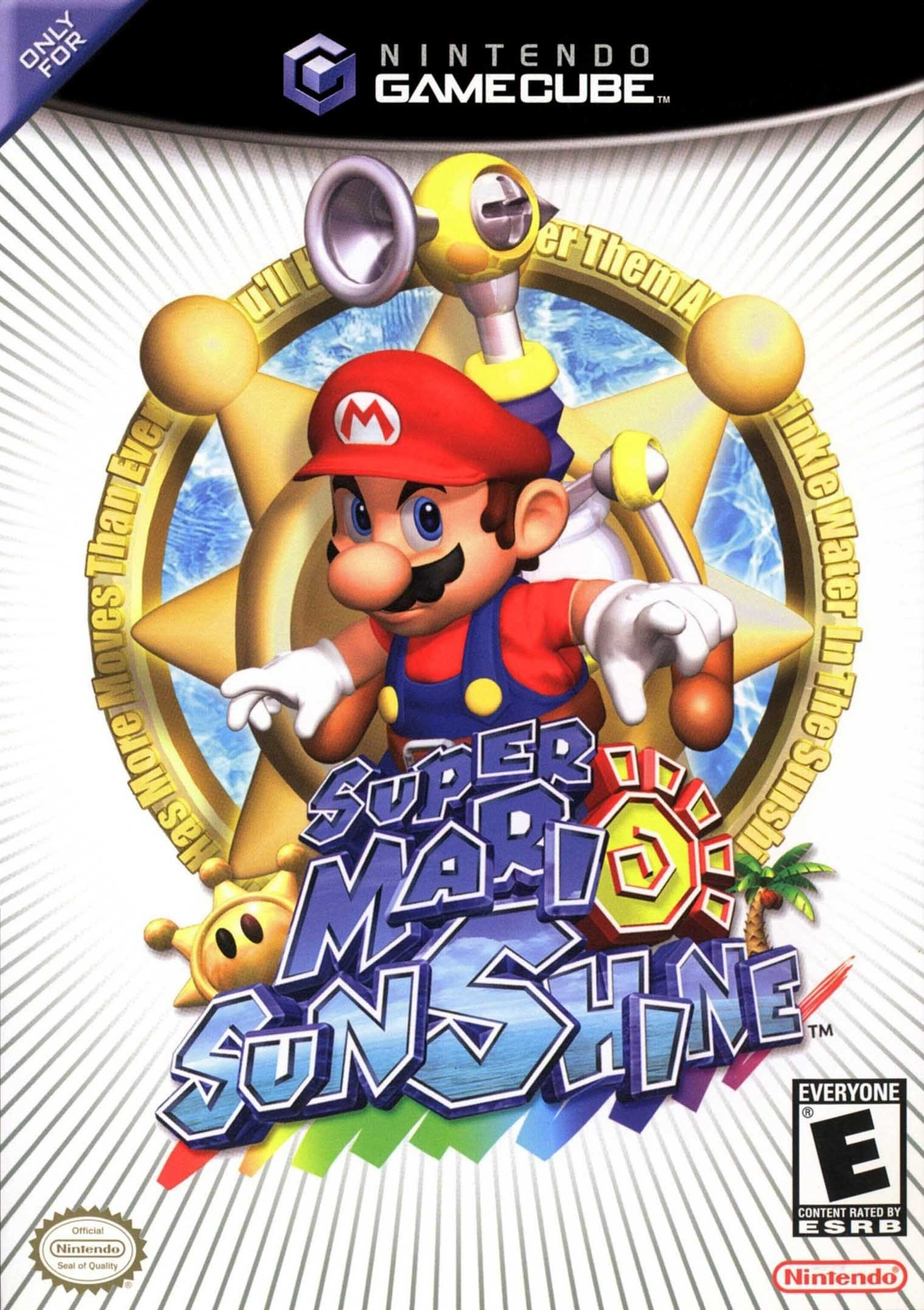 Super Mario Sunshine game