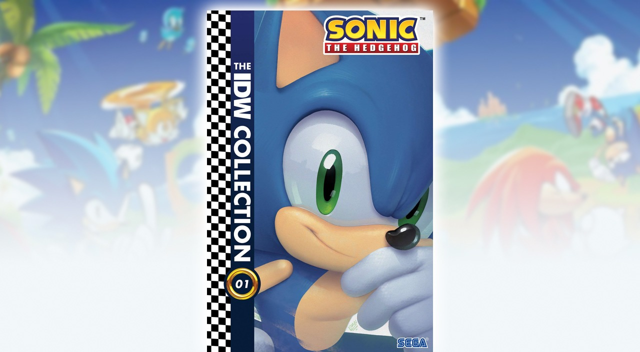 IDW's Sonic the Hedgehog comic getting a hardcover collection