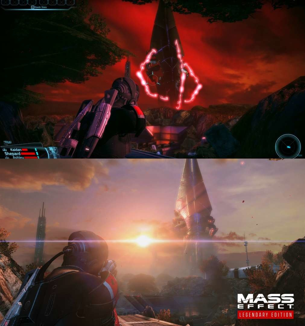 Comparison on Mass Effect Legendary Edition To Classic Versions
