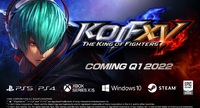 The King of Fighters XV confirmed...