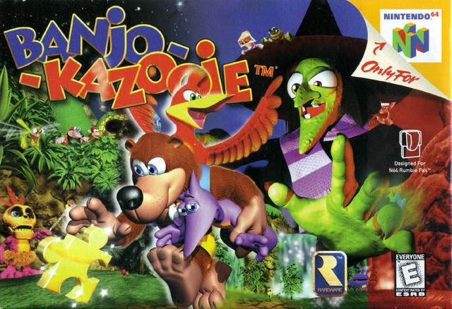 Banjo-Kazooie game
