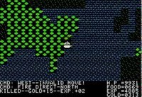 Ultima 2: Revenge of the Enchantress: Apple II Game - Ultima II: Revenge of the Enchantress (1982 Sierra On-Line Inc.)