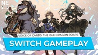 Voice of Cards The Isle Dragon Roars Switch gameplay