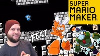 super mario maker: Super Mario Maker - 0.97% Mega Man Music Level (Feat. Cut Man & Bubble Man!) [Stream Highlights]