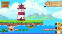 Luna's Fishing Garden gameplay