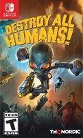 Destroy All Humans Switch boxart...