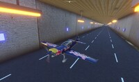 You Can Now Fly a Plane Through...