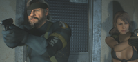 Resident Evil 2 Remake: New Resident Evil 2 Remake mods replace Claire & Leon with Quiet & Big Boss from Metal Gear Solid 5