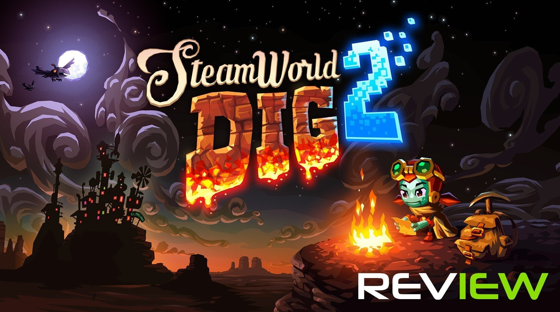 SteamWorld Dig 2 Review