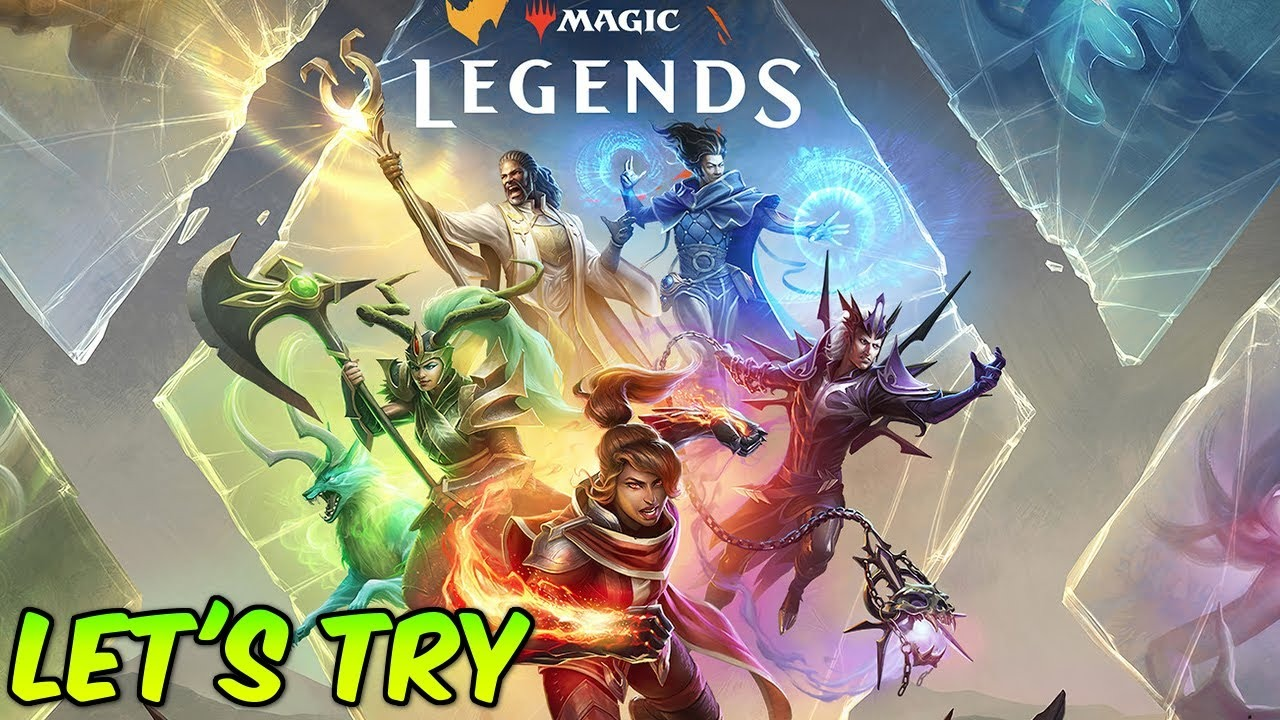 Lets try Magic  Legends