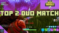 TOP 2 DUO MATCH  Fortnite Battle...