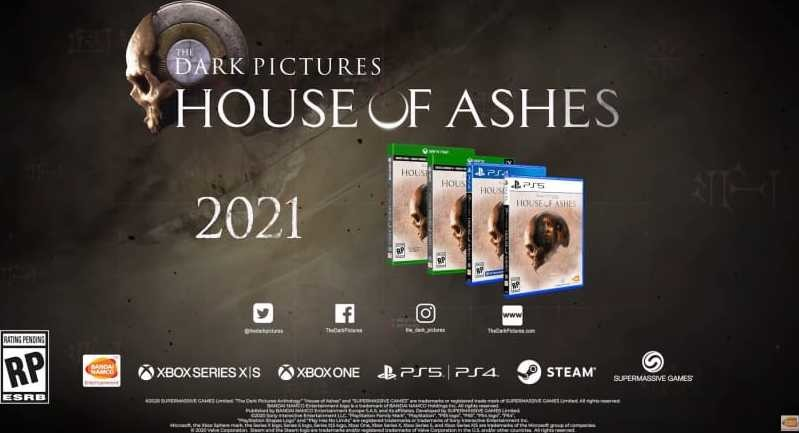 The Dark Pictures Anthology: House Of Ashes Is Coming Next Year