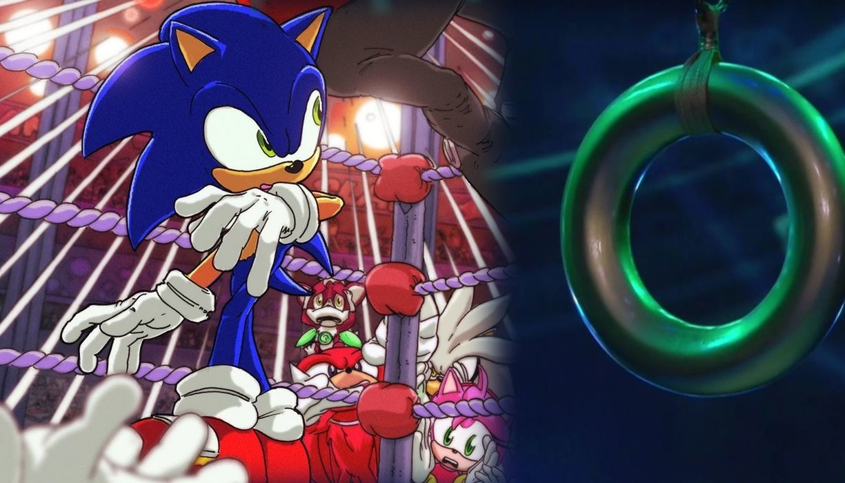 AEW Ladder Match Prize Compared to Sonic the Hedgehog Ring