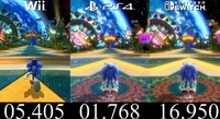 Sonic Colors Ultimate Wii vs Switch...