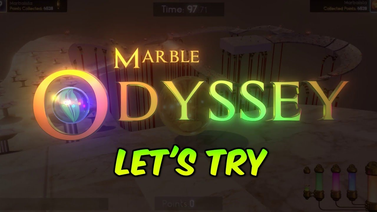 Lets try  Marble Odyssey