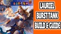 Arena Of Valor: LAURIEL BUILD | Arena Of Valor BURST TANK BUILD | AOV Nintendo Switch