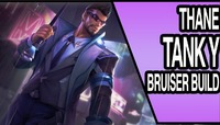 Arena Of Valor: SECRET AGENT THANE | Arena Of Valor TANKY BRUISER BUILD | AOV Mobile