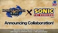 Monster Hunter Rise teases Sonic...
