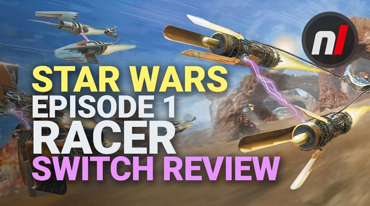 Star Wars Episode 1 Racer Nintendo Switch Review  Is